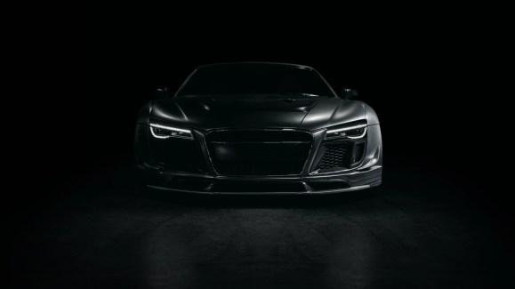 car Black background 3d