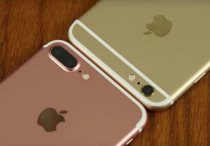Iphone 6 plus vs iphone 7 s