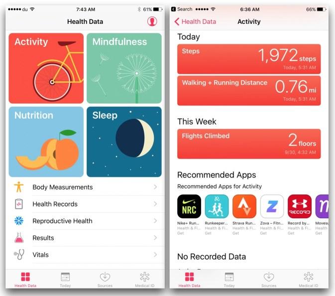 health-data-pedometer