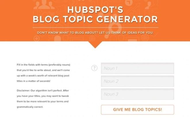 hubpost-topic-generator