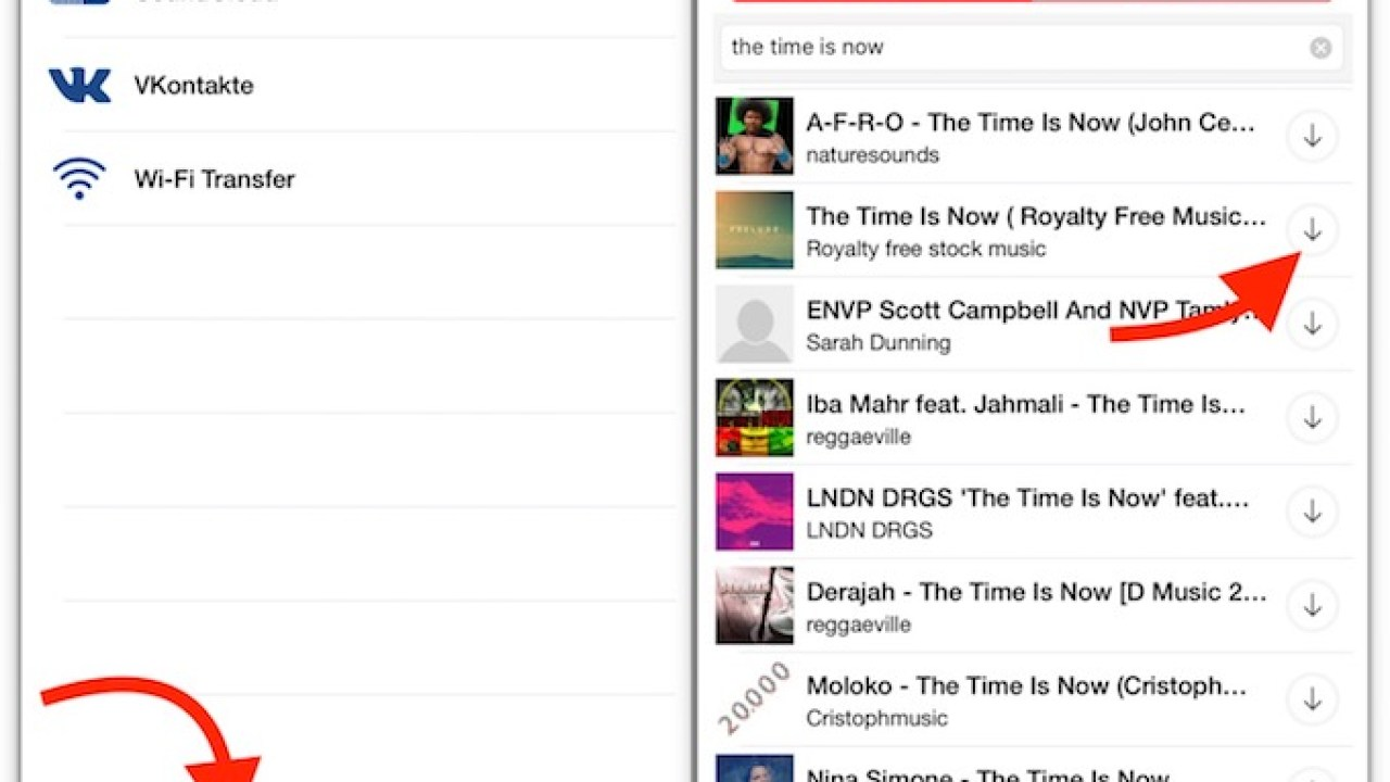 iPhone app to Download Music from SoundCloud with Player