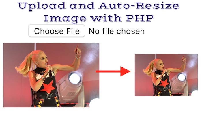 image resize with php