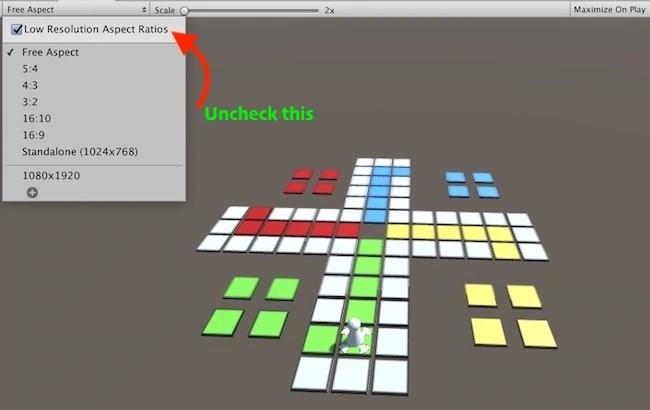 Unity Bad Pixel