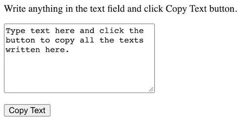 text copy