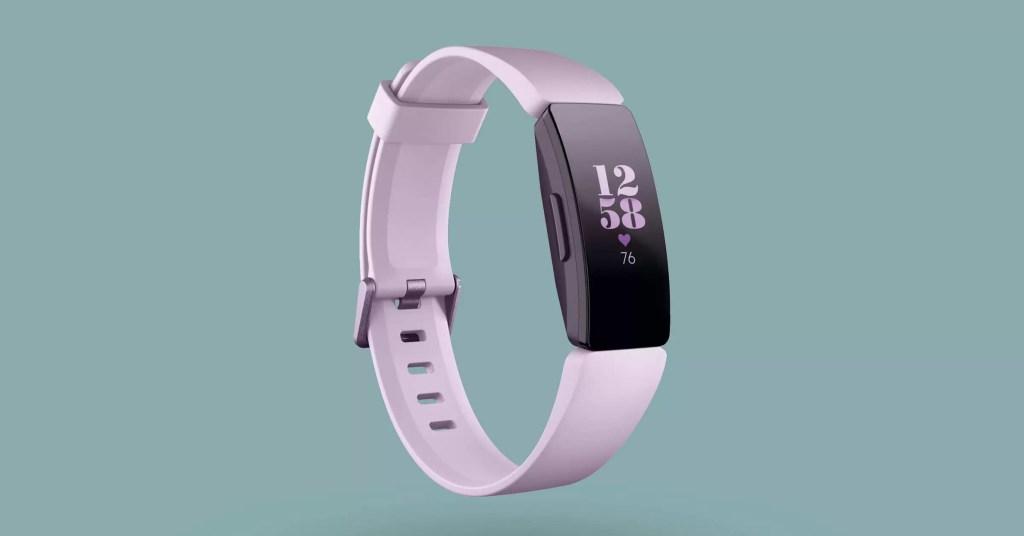 Fitbit Inspire HR pentru exercitii fitness exterior