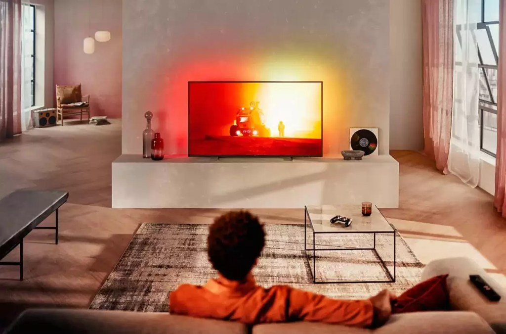 Philips 55PUS7805/12 Cel mai bun televizor cu ambilight