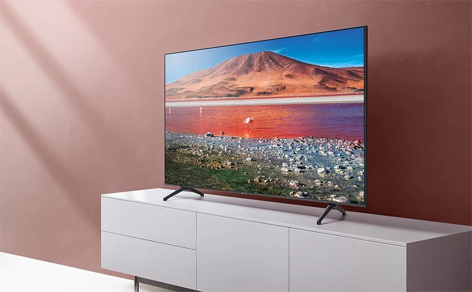 Samsung 55TU7172 smart tv bun diagonala medie