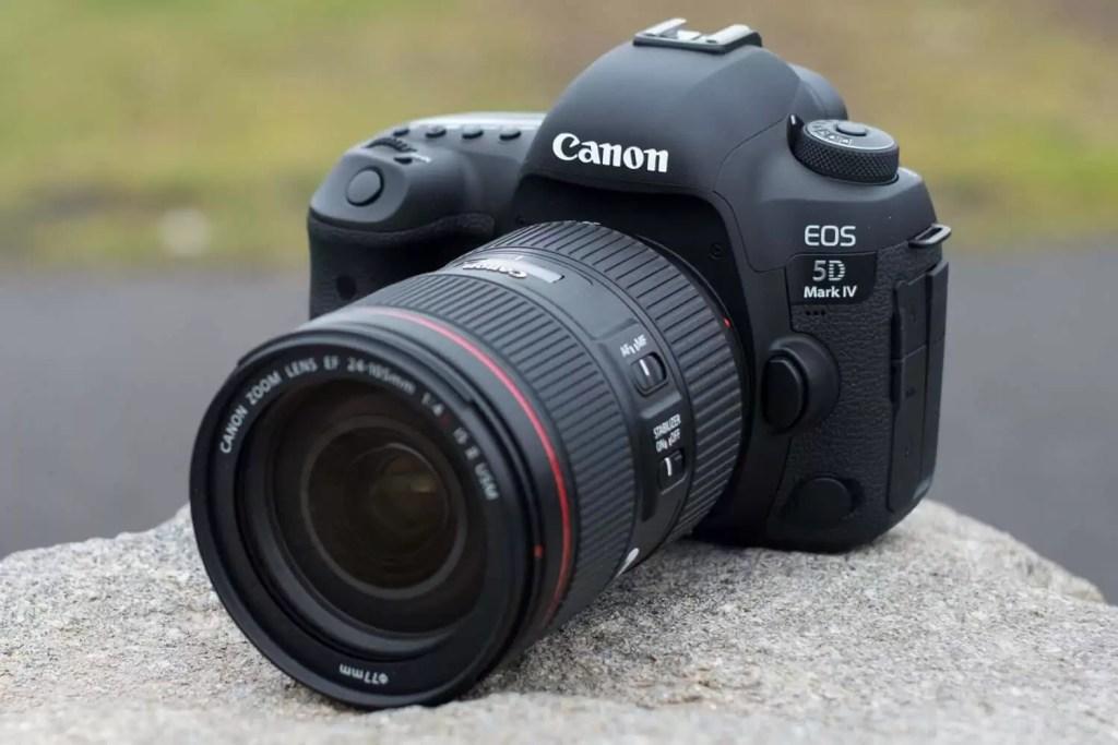 Canon EOS 5D Mark IV  - Cel mai bun aparat foto DSLR full frame Canon pentru profesioniști