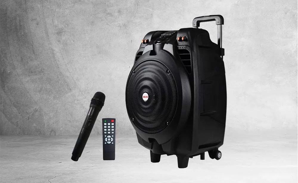 Akai SS023A-X10 – Cea mai bună boxă portabilă cu microfon