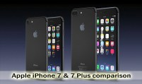 Apple iPhone 7 & 7 Plus Comparison