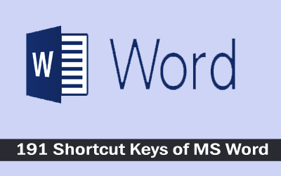 Ms Office 2007 Shortcut Keys Pdf