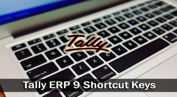 Tally ERP 9 All Shortcut Keys (60 Shortcut Keys) Download in