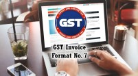 GST Invoice Format in Excel, Word, PDF and JPEG (Format No. 7)