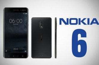 Nokia 6 in black