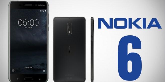Nokia 6 in black
