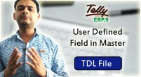 User Defined Field in Master (Tally ERP 9 Add-on .tdl File)