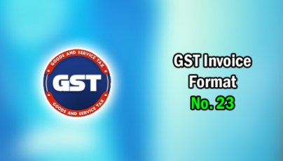 Gst Invoice Format In Excel Word Format No 30 Xls Doc