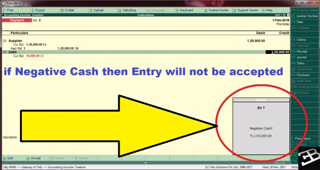 Negative Cash Control TDL for Tally, Negative Cash Control TDL, tdl for Negative Cash Control, tdl for Negative Cash stop, Negative Cash tdl, stop Negative Cash in tally,