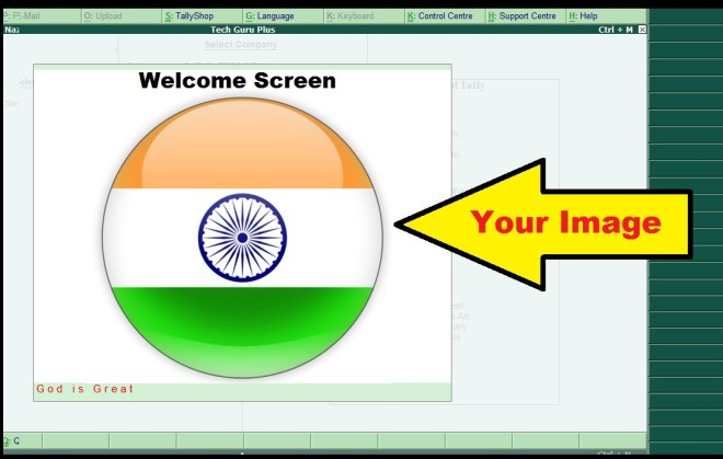 welcome screen in tally welcome screen in tally erp9, welcome screen tally , tally welcome screen, welcome screen tdl, welcome screen tdl for tally, tdl, tally tdl, tally erp 9 tdl files, home screen in tally change home screen of tally, change tally screen, change welcome screen in tally,