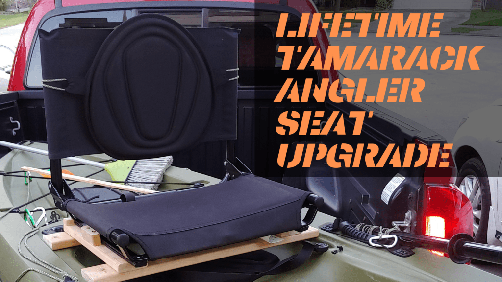 LIFETIME TAMARACK ANGLER SEAT UPGRADE