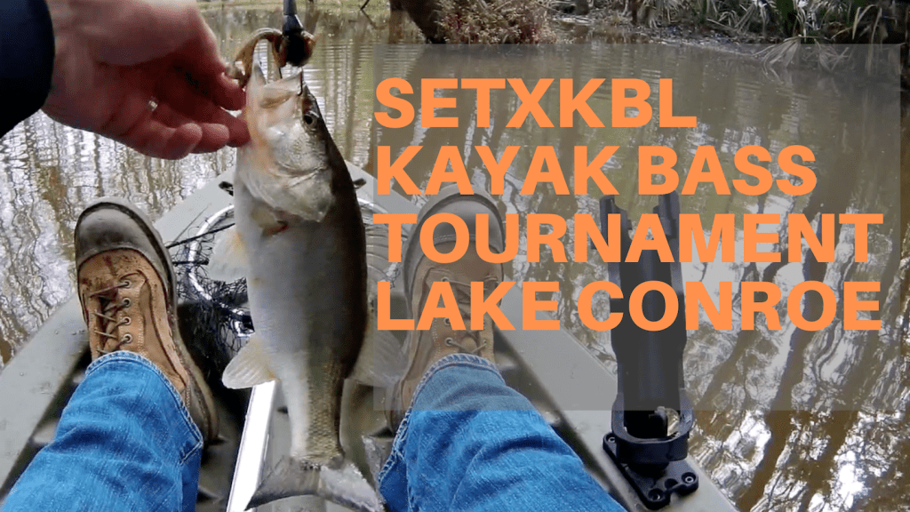 Kayak Bass Fishing Tournament | SETXKBL Round 3 | Lake Conroe - March 2019