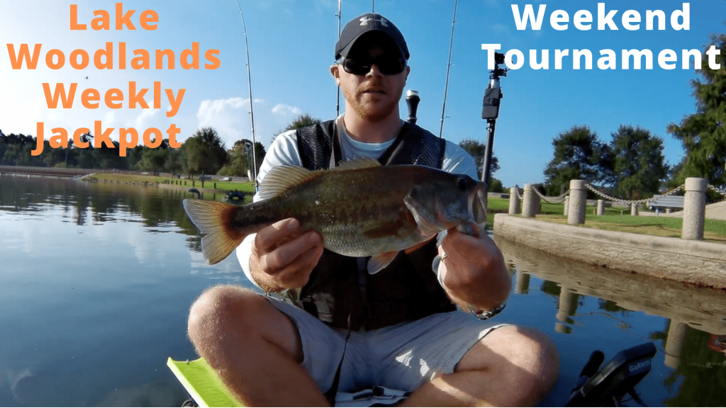 Lake Woodlands Weekly Jackpot Weekend Tournament - 2nd place