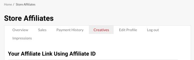 Dashboard Creatives