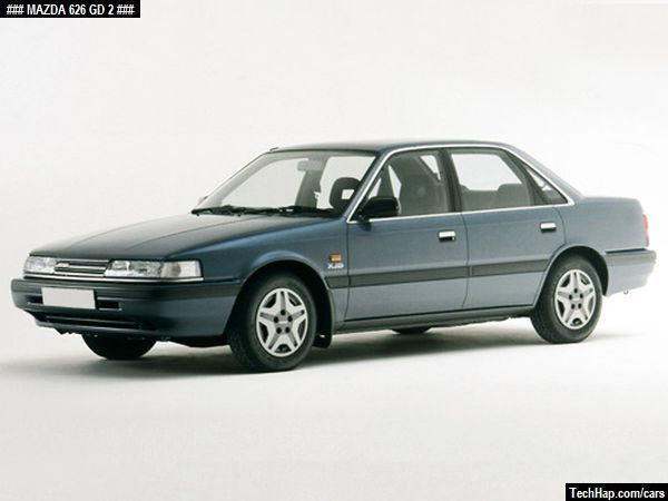 Mazda 626 Gd Photo Car Specifications Automobile