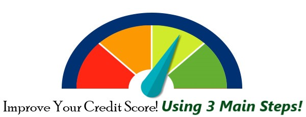 Steps to Helping Improve Your Credit