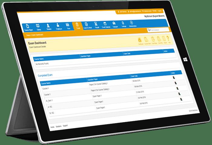 online-exam software