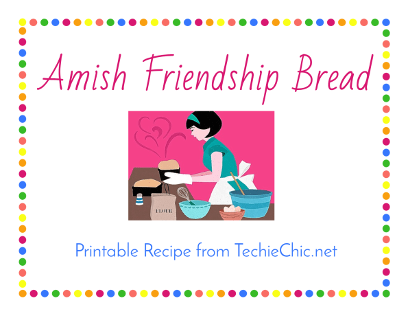 Amish Friendship Bread Banner