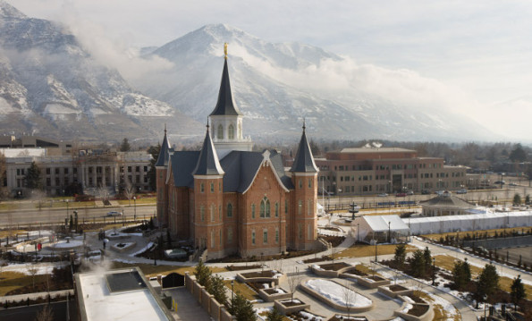 Provo City Temple, Image courtesy of LDS.org