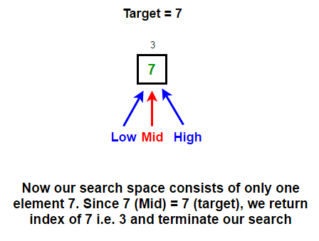 binary search 3