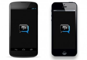 blackberry bbm ios android