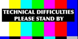 technical issue