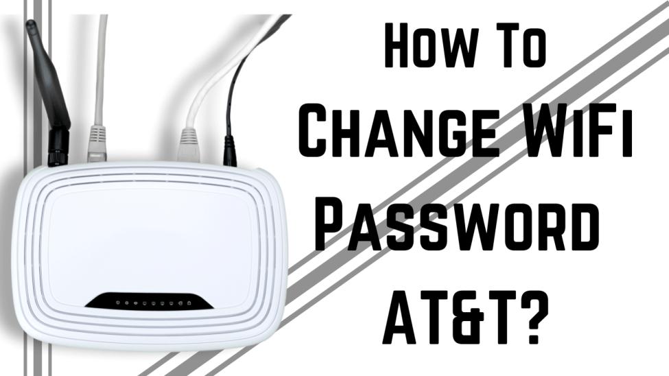 How To Change WiFi Password ATT