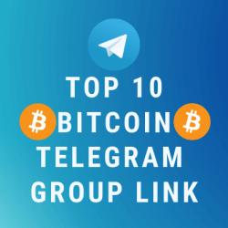 Top 10 Bitcoin Telegram Group Link 2019