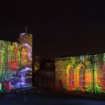 """Projection Studio creates """"Illuminata""""  at Caerphilly Castle"""