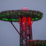 Rouge Watchtower Lit with Robe