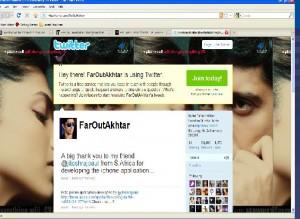 Farhan Akhtar Twitter Profile Pic