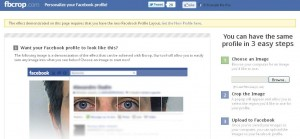 FBCrop.com - Personalise Your Facebook Profile
