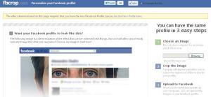 FBCrop.com - Personalise Your Facebook Profile