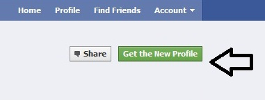 how to enable new facebook profile