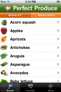 Perfect Produce App