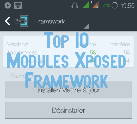 Top 10 Modules Xposed