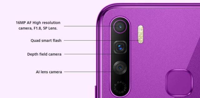 Infinix S5 Lite Camera