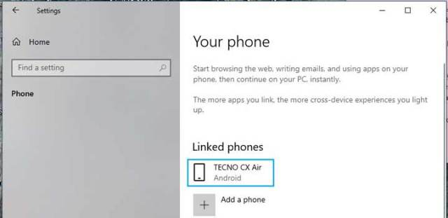 Link-phone-to-windows-10-setting-2
