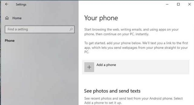 Link-phone-to-windows-10--settings