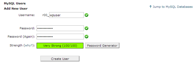 cPanel-database-user-create