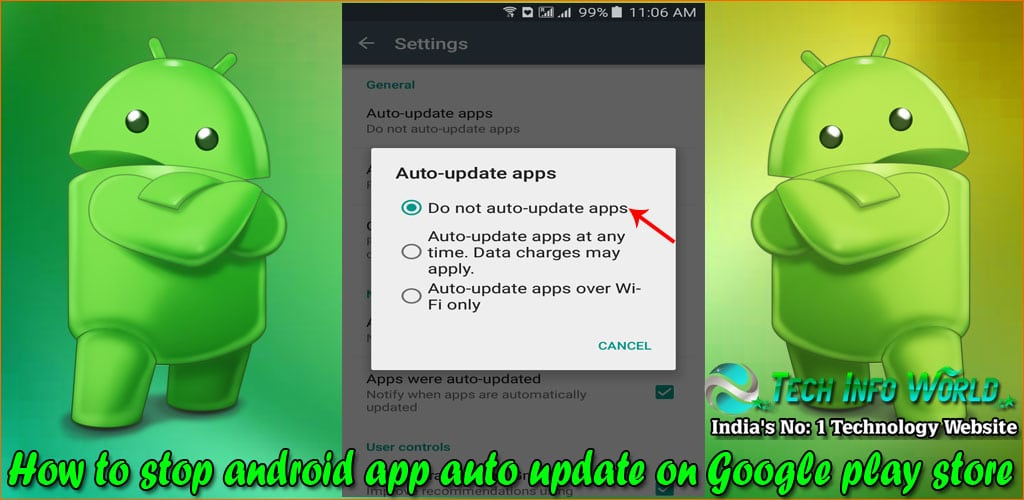 android app auto update on Google play store 3